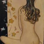 Spavalda  - Acrylic on Canvas  8x16