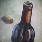 Vino painting-Bottle